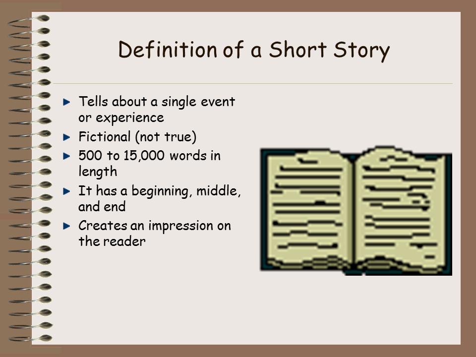 how to write a short story  presentation english language